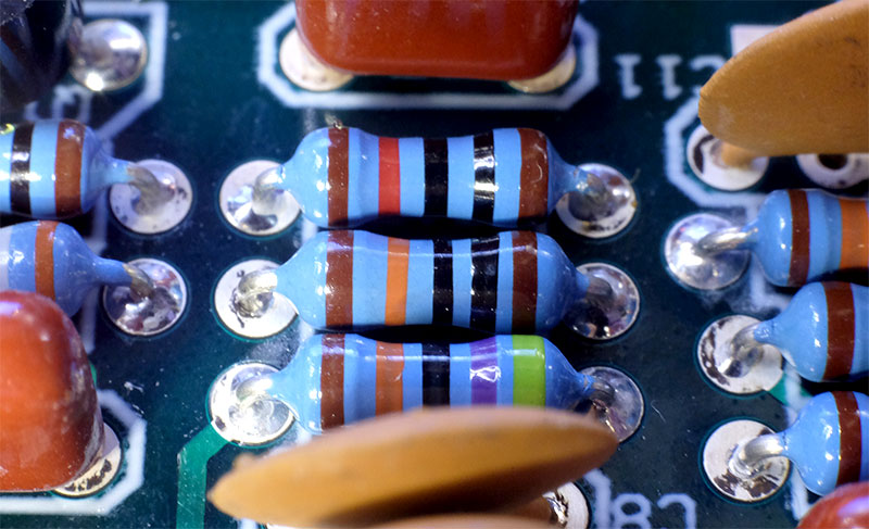 resistors-close-up