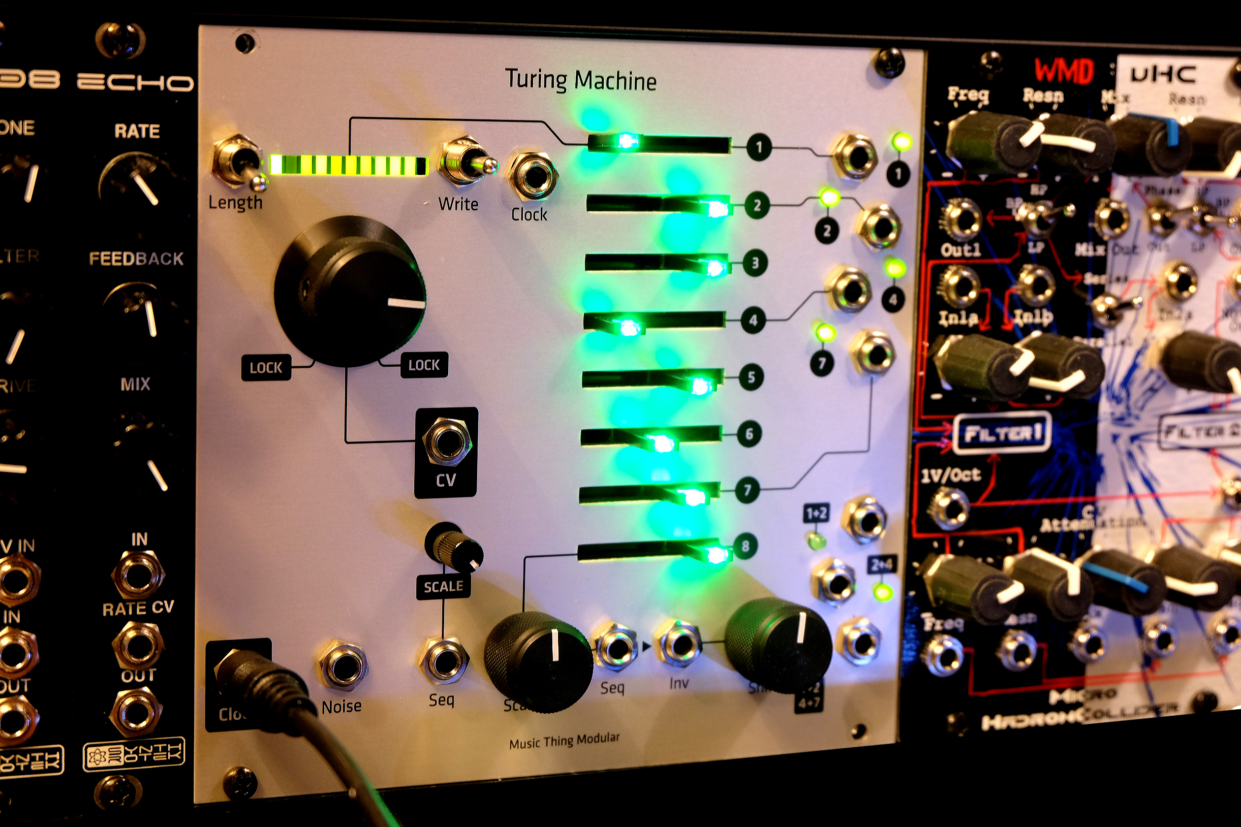Turing-machine-green-leds