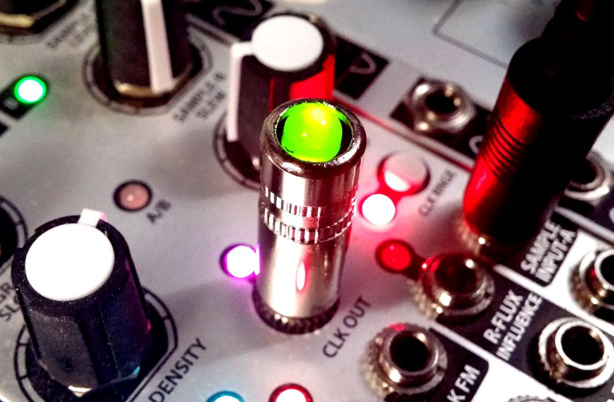 Diy 35mm Eurorack Jack Plug Led Bipolar Red Green Tips On Modular Three Resistor Series Circuit